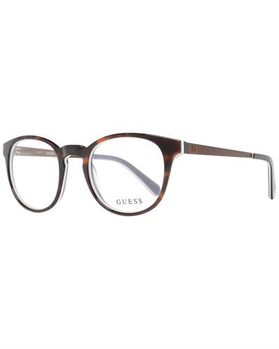 Guess GU1959 49052 Brand New Eyeglasses  Brown metal and  Brown plastic