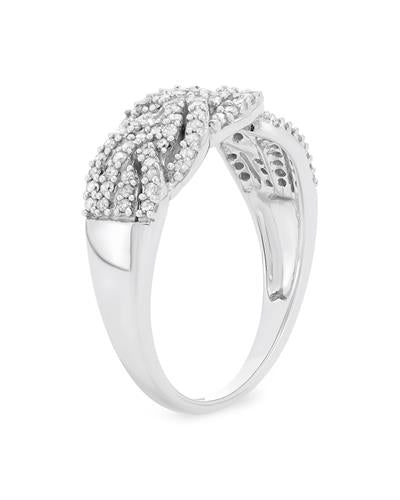 Brand New Ring with 0.5ctw diamond 10K White gold