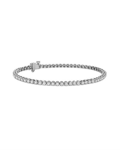 Whitehall LOVERS Brand New Bracelet with 1.62ctw lab-grown diamond 14K White gold