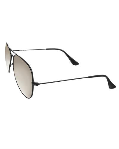 AQS OLV013 Silver Oliver Brand New Sunglasses  Black metal