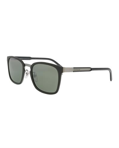 Montblanc MB591S-F 97Q Brand New Sunglasses  Green metal