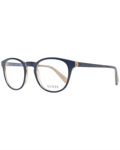 Guess GU1959 49090 Brand New Eyeglasses  Blue metal and  Blue plastic
