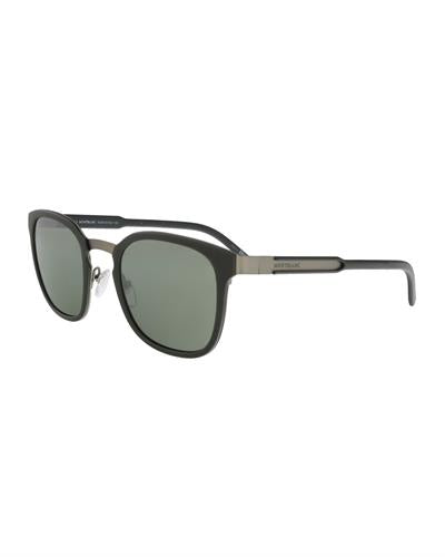 Montblanc MB603S 97Q Brand New Sunglasses  Green metal