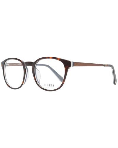 Guess GU1959-F 51052 Brand New Eyeglasses  Brown metal and  Brown plastic