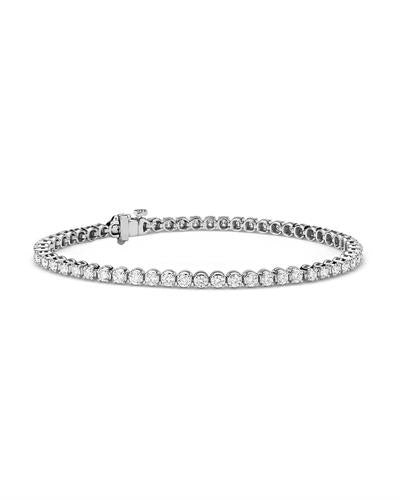 Whitehall LOVERS Brand New Bracelet with 2.76ctw lab-grown diamond 14K White gold
