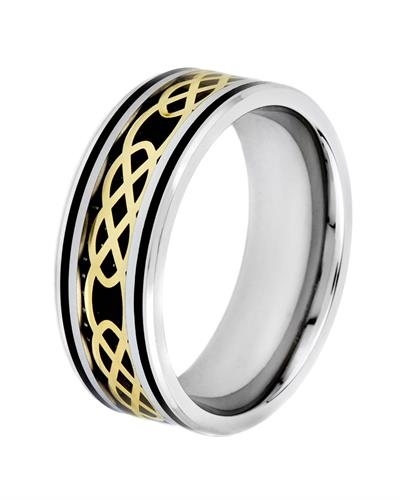 Brand New Ring  Three tone Stainless steel