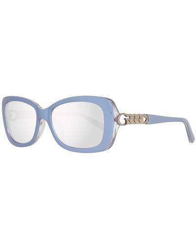 Guess Gu7453 5690C Brand New Sunglasses  Blue plastic