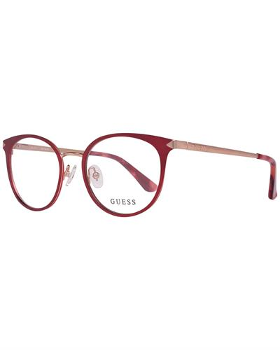 Guess GU2639 49069 Brand New Eyeglasses  Burgundy metal