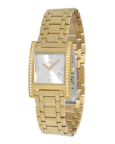 Oniss ON8300-33 PARIS Brand New Swiss Quartz date Watch with 0ctw crystal