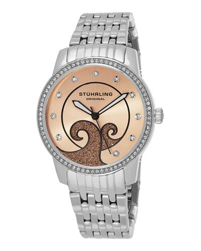 STUHRLING ORIGINAL 569.03 Symphony Brand New Japan Quartz Watch