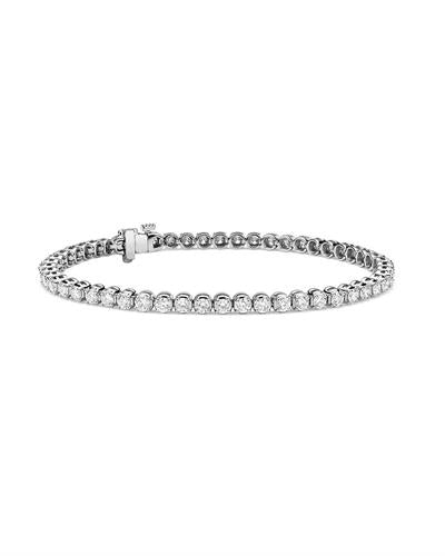 Whitehall LOVERS Brand New Bracelet with 3.84ctw lab-grown diamond 14K White gold