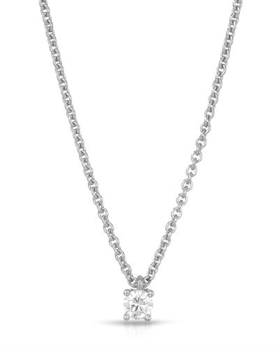 HELLMUTH Brand New Necklace with 0ctw cubic zirconia 925 Silver sterling silver