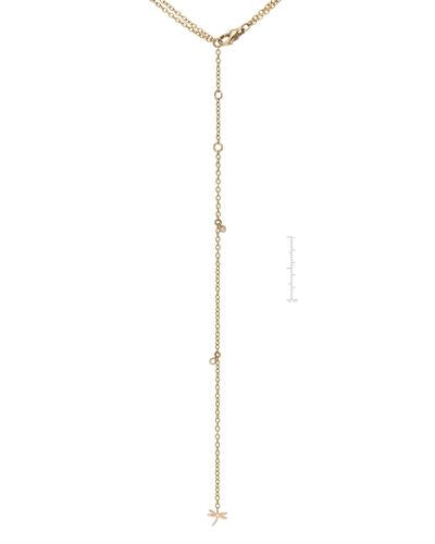 CASATO Brand New Necklace with 33.81ctw of Precious Stones - diamond and quartz 18K Two tone gold