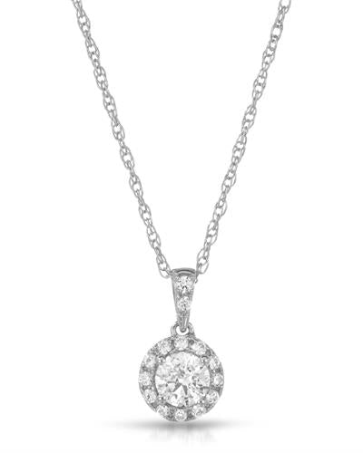 Brand New Necklace with 0ctw cubic zirconia  Metallic alloy