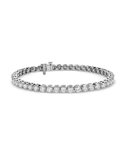 Whitehall LOVERS Brand New Bracelet with 6.63ctw lab-grown diamond 14K White gold
