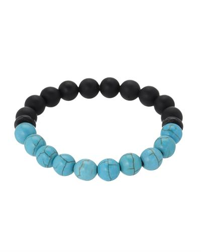 Brand New Bracelet with 0ctw of Precious Stones - agate and turquoise