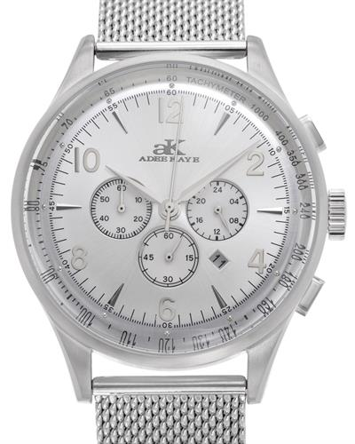 Adee Kaye ak9040-M/SV Brand New Japan Quartz date Watch