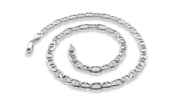 Bedazzled Bijou Brand New Chain Necklace in 925 Sterling Silver