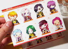 Load image into Gallery viewer, FE3H kiss cut Sticker sheet