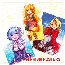 Load image into Gallery viewer, Prism A4 Posters