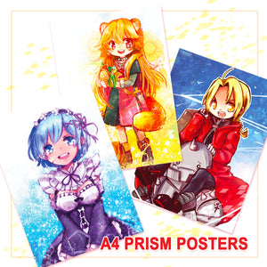 Prism A4 Posters