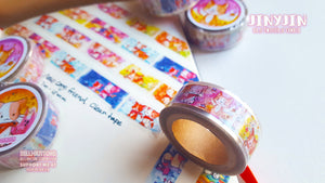 Nekodachi Puppy friends Clear Tape
