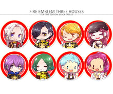 Load image into Gallery viewer, Fire Emblem Three Houses Tea time button set