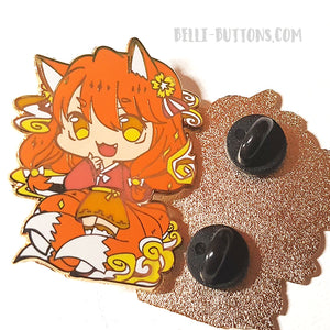 Korean Monster girls Enamel pin