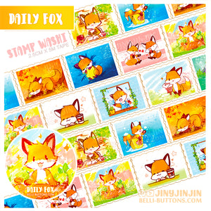 Foxy Stamp Washi Tape