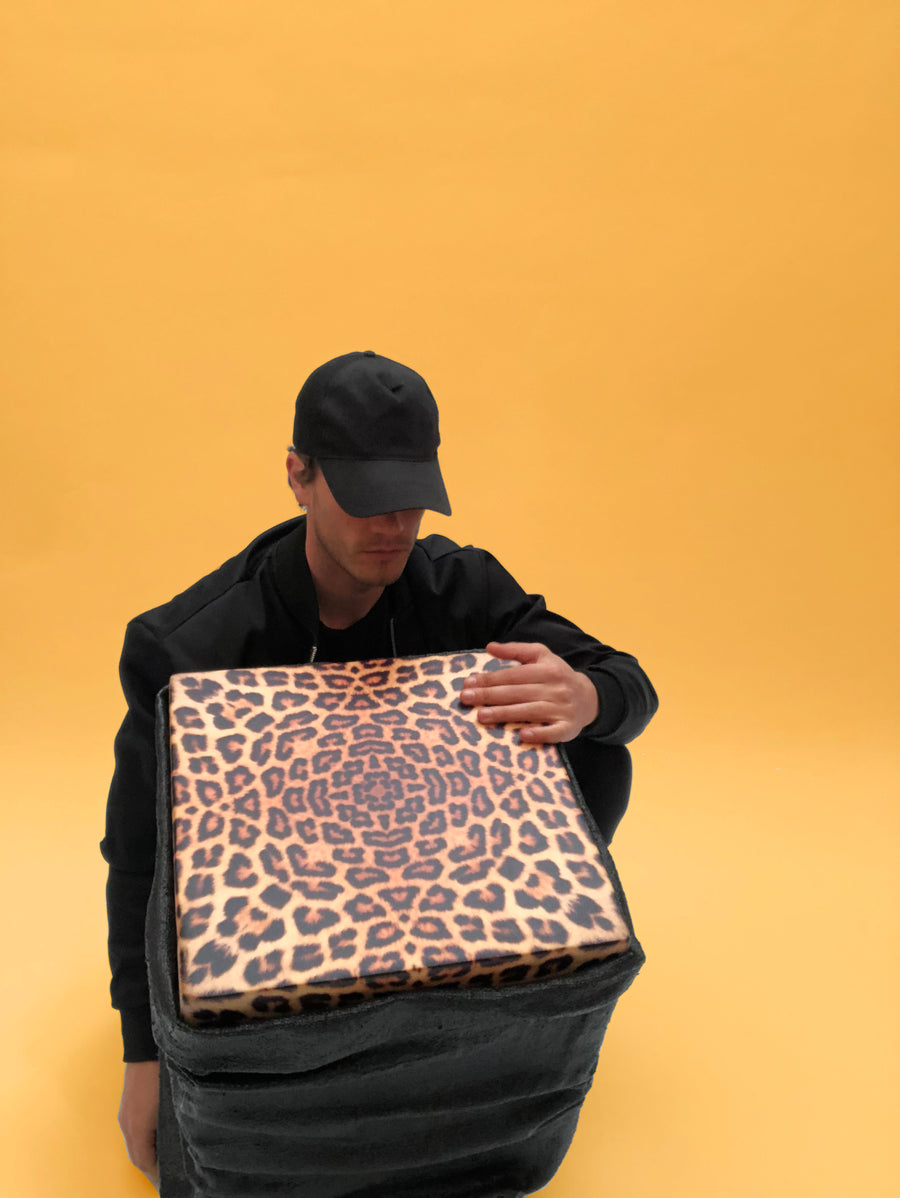 Nº2 Black bag leopard
