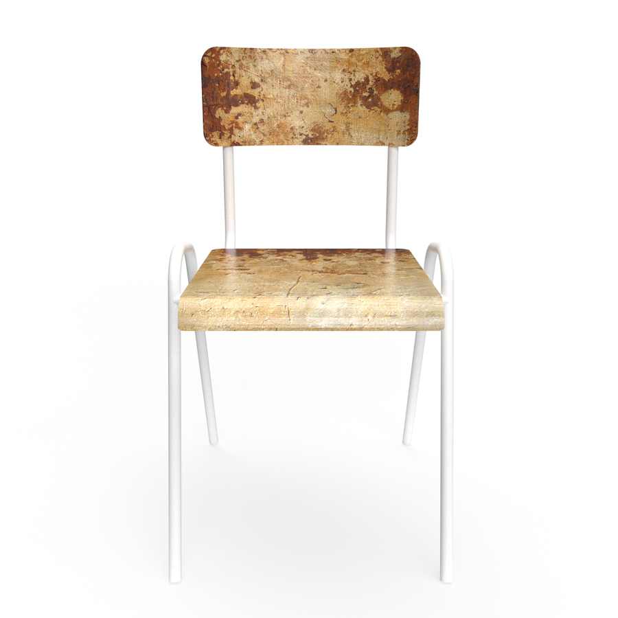 Rusted concrete Chair