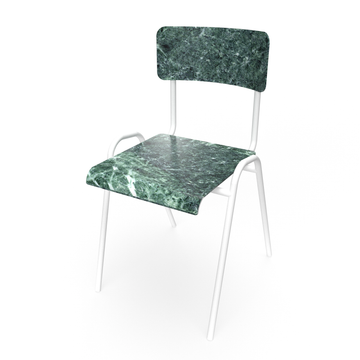 Green marble Chair