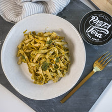 Load image into Gallery viewer, Fresh Vegan Hemp & Spinach Tagliatelle 500g