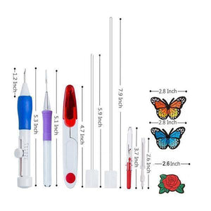 [last day 50%] Rainbow Color Embroidery Threading Tool 136 Sets