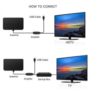 🔥Buy More Save More🔥 HDTV Free Cable Antenna With Signal Booster