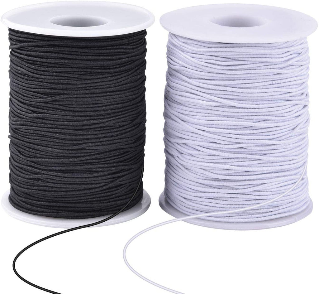 🔥20pcs only $99.99🔥1.0MM Elastic Earloop DIY Beading Cord, 100 Yard