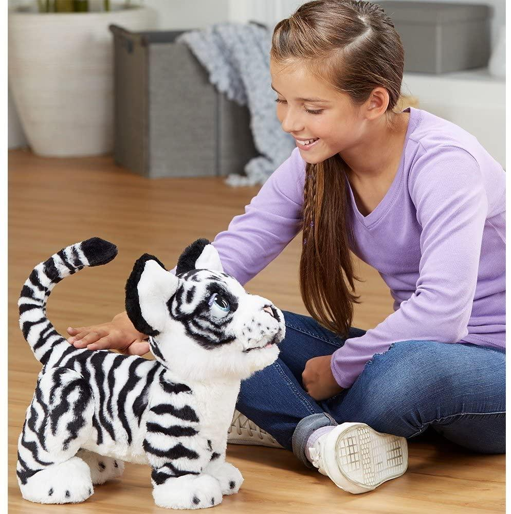 The Ivory Roarin Playful Tiger