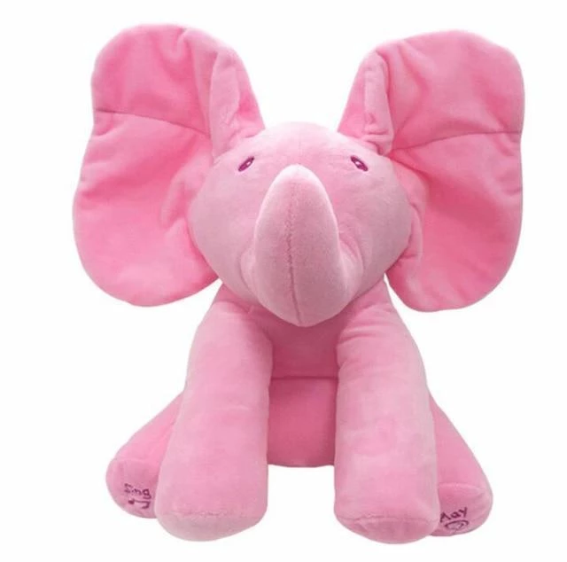 🔥50%OFF🔥I 'm a PeekaToy elephant plush toy 🐘 I can be cute and sing🎤