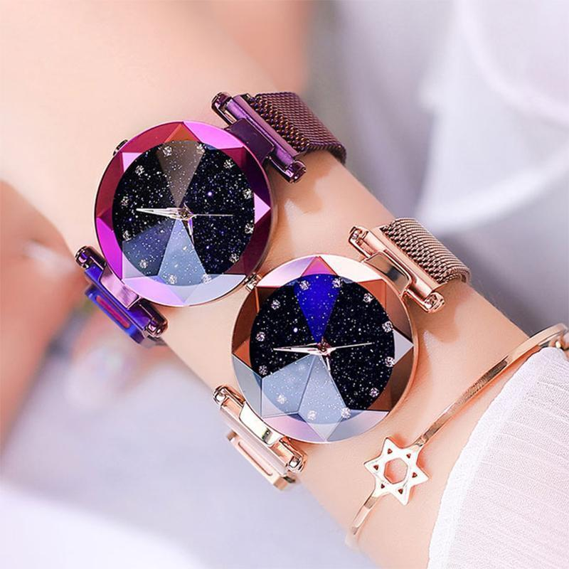 ✨$18.99 Buy 1 Get 1 Free✨Bejewelled Starry Watch