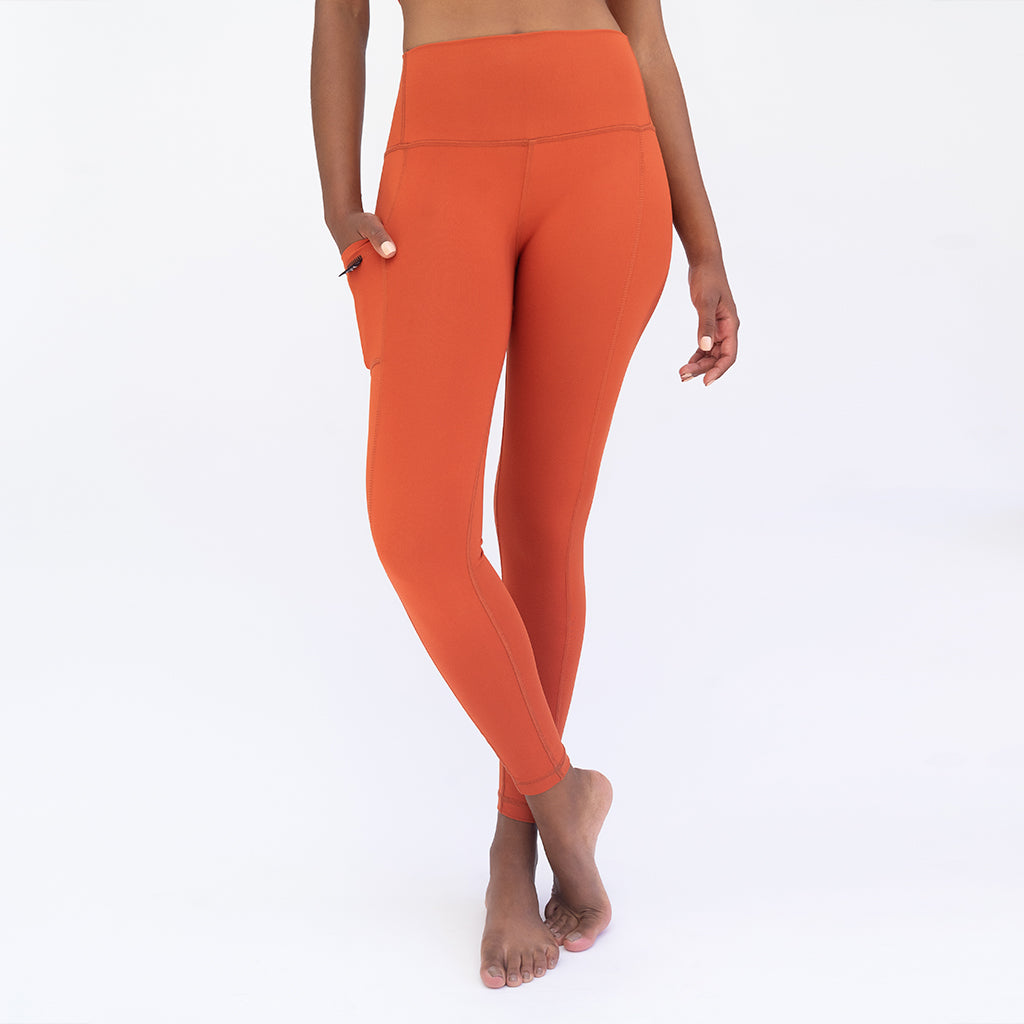 Legging Pocket Cobre 7/8