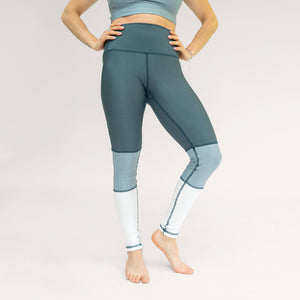 Legging Tricolor Green