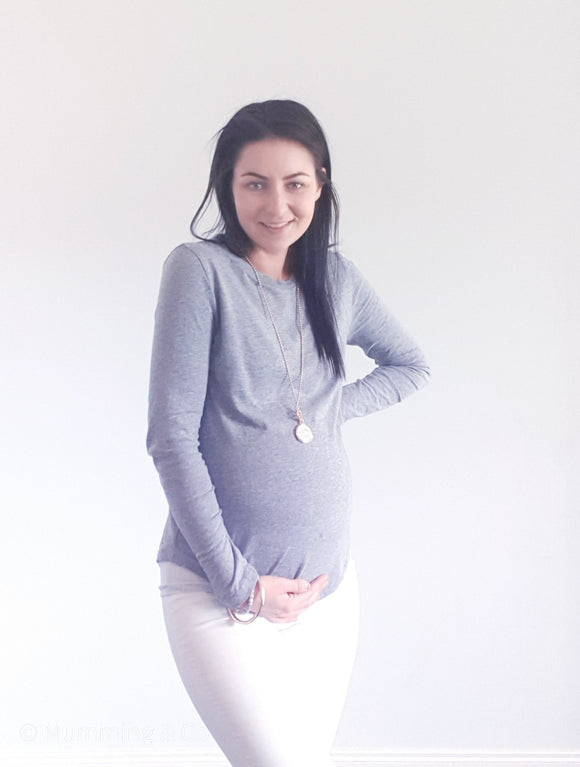 Harlow Maternity Long Sleeve Top