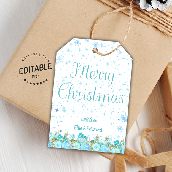 Christmas favor tags