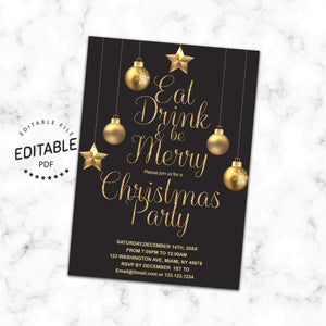 Christmas invitation