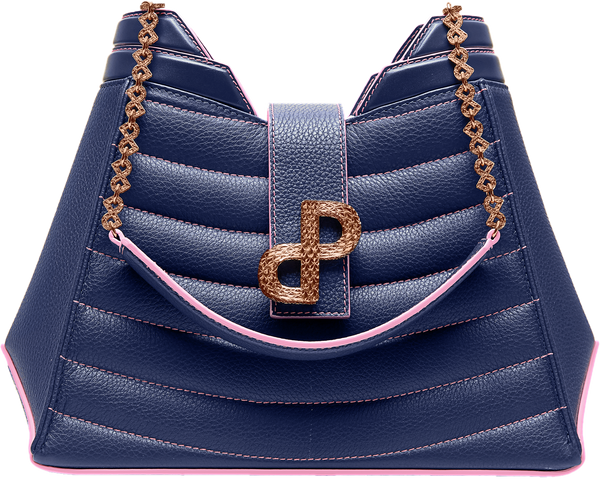 ANNIA Luxury Tote Navy