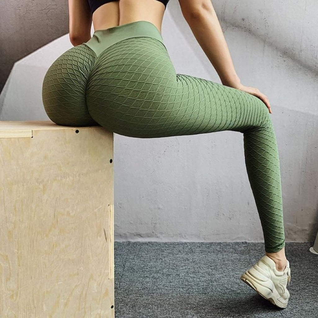 Body shaping leggings - Light Green / S - Pants