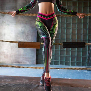 Dragonfly leggings - Pants