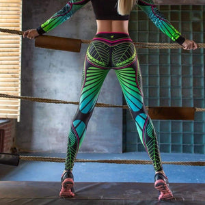 Dragonfly leggings - L - Pants