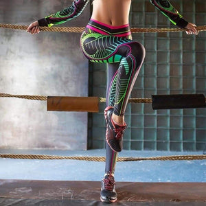 Dragonfly leggings - M - Pants