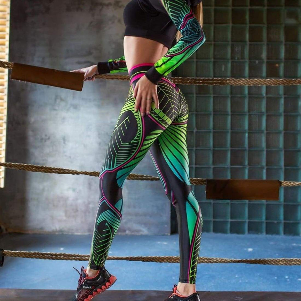 Dragonfly leggings - S - Pants